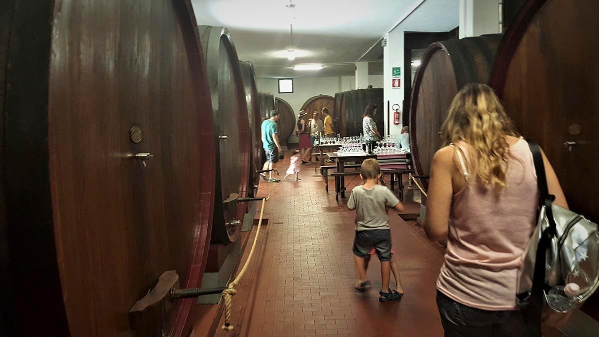 Дегустационная экскурсия в Монтекарло ли Лукка (фото 6)