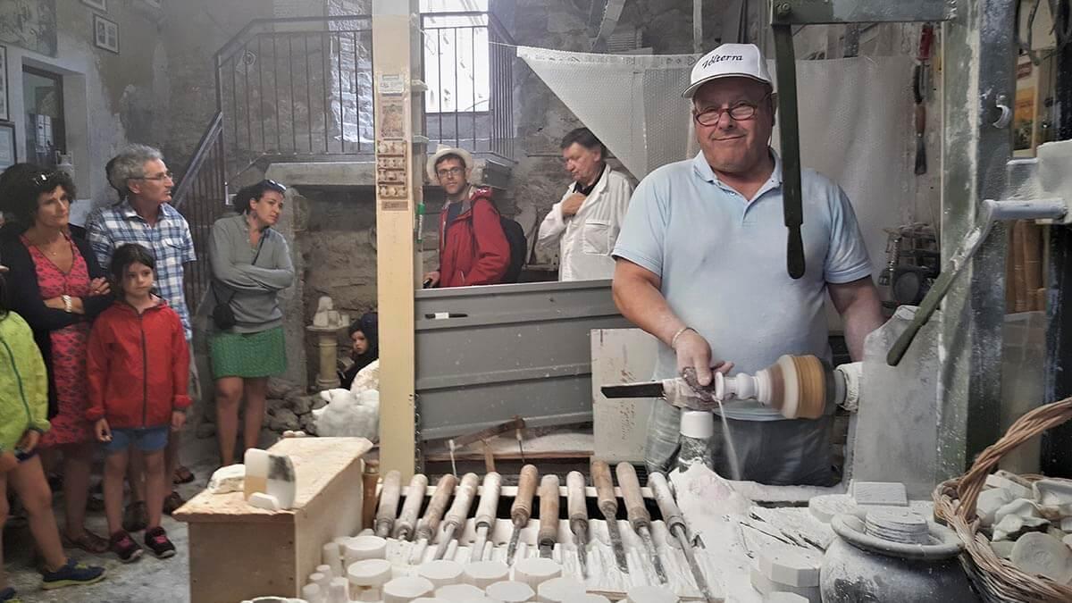 Экскурсия по городу Вольтерра (фото 8)