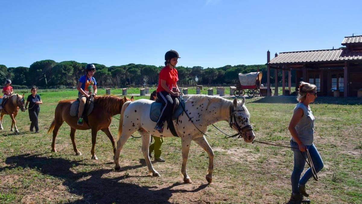 Уроки верховой езды для детей в Пизе (фото 6)