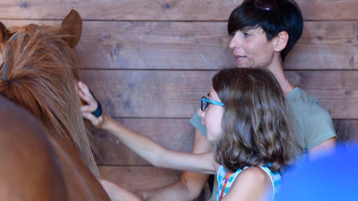 Уроки верховой езды для детей в Пизе (фото 8)