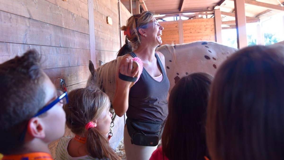 Уроки верховой езды для детей в Пизе (фото 9)