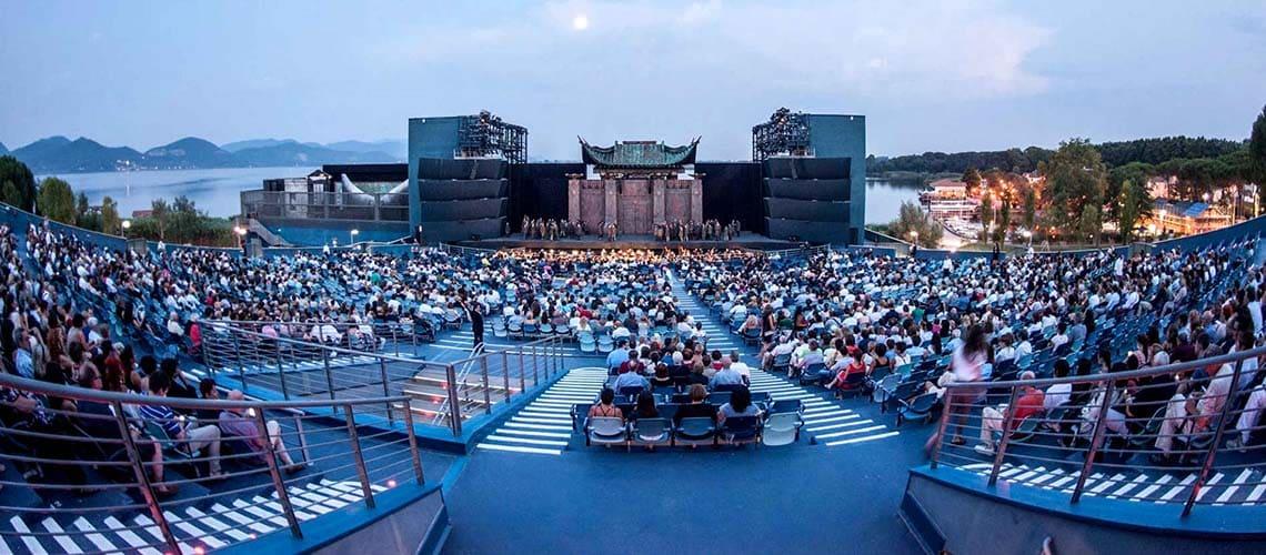 Торре дель Лаго - Оперный фестиваль Пуччини