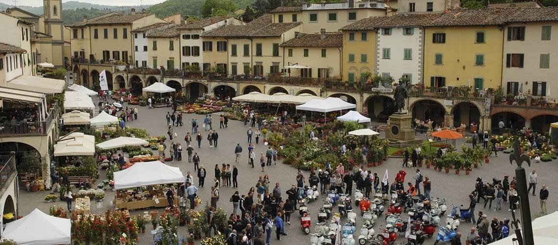 Флоренция - Праздник цветов Греве ин Кьянти