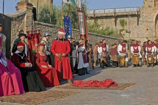 Событийный календарь - Тоскана: Июль