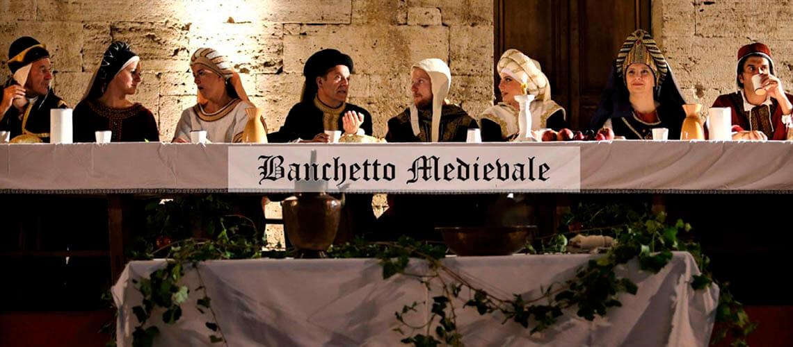 Флоренция - Средневековый банкет