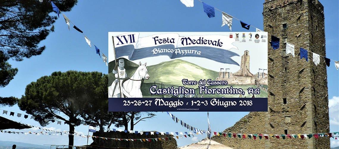 Кастильон Фиорентино | Средневековый праздник BiancoAzzurra