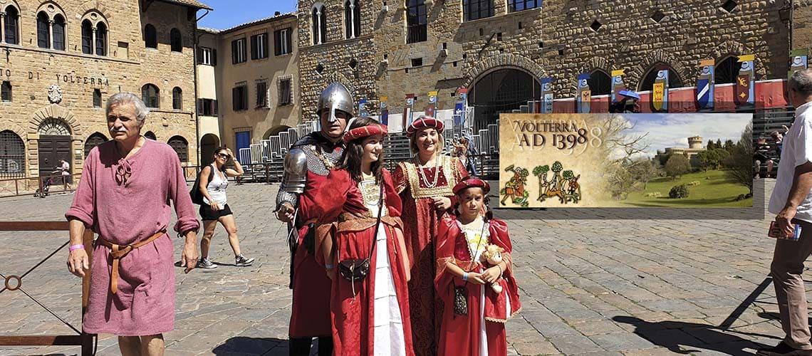 Средневековый город Вольтерра