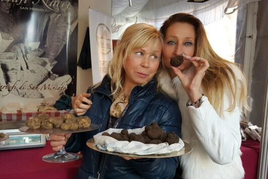 Ярмарка трюфеля в Сан-Миниато - экскурсии с гидом Ирина Лихота