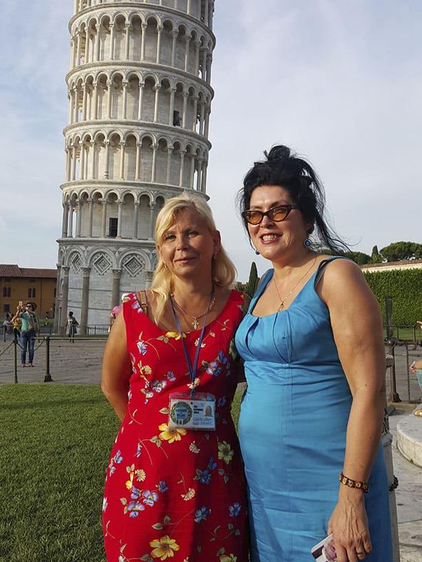 Гид Ирина Лихота - экскурсии в Тоскане. Фото с туристами (фото 1)