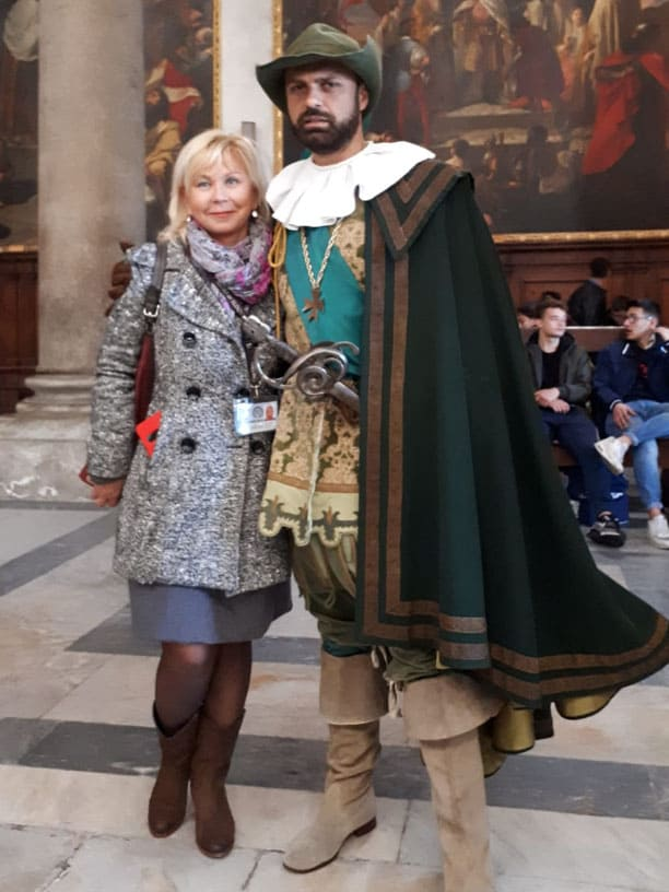 Гид Ирина Лихота - экскурсии в Тоскане. Фото с туристами (фото 11)