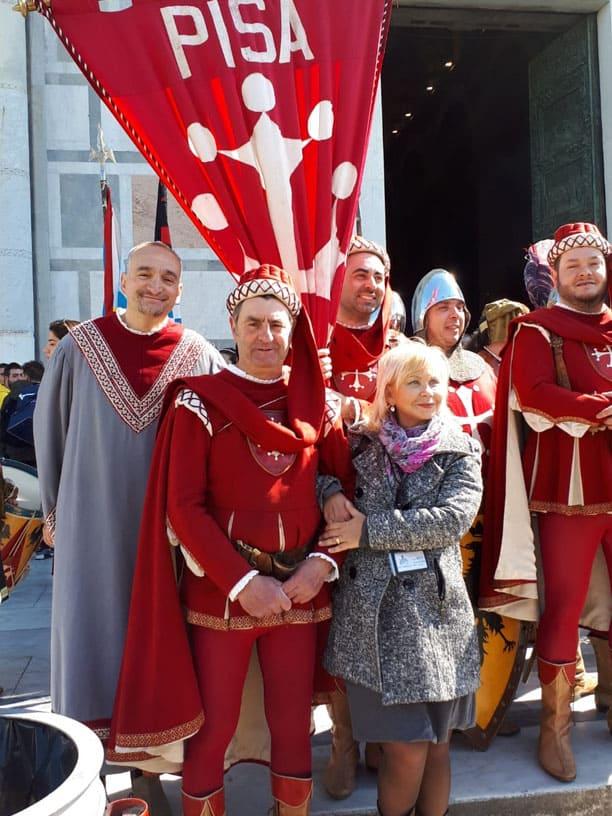 Гид Ирина Лихота - экскурсии в Тоскане. Фото с туристами (фото 12)