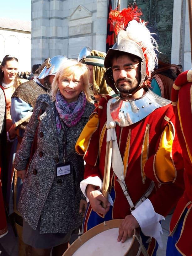 Гид Ирина Лихота - экскурсии в Тоскане. Фото с туристами (фото 13)