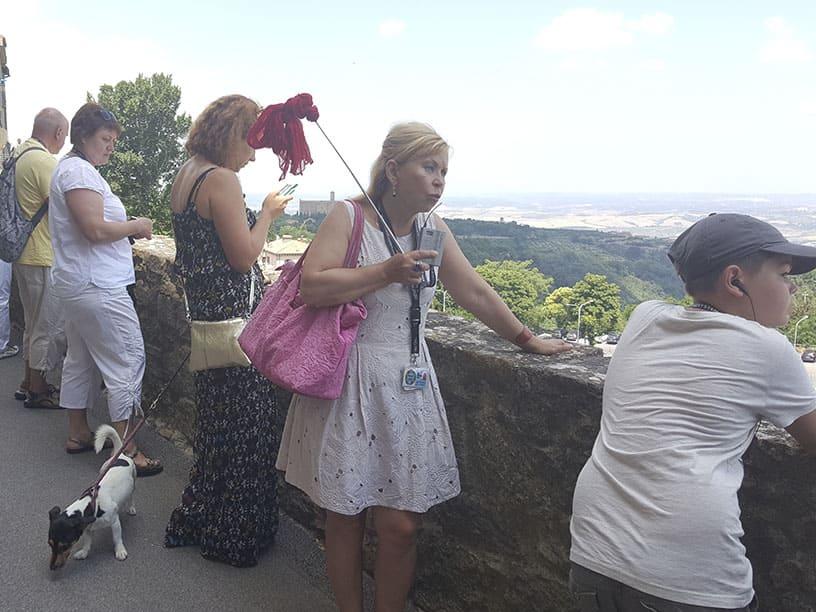 Гид Ирина Лихота - экскурсии в Тоскане. Фото с туристами (фото 3)