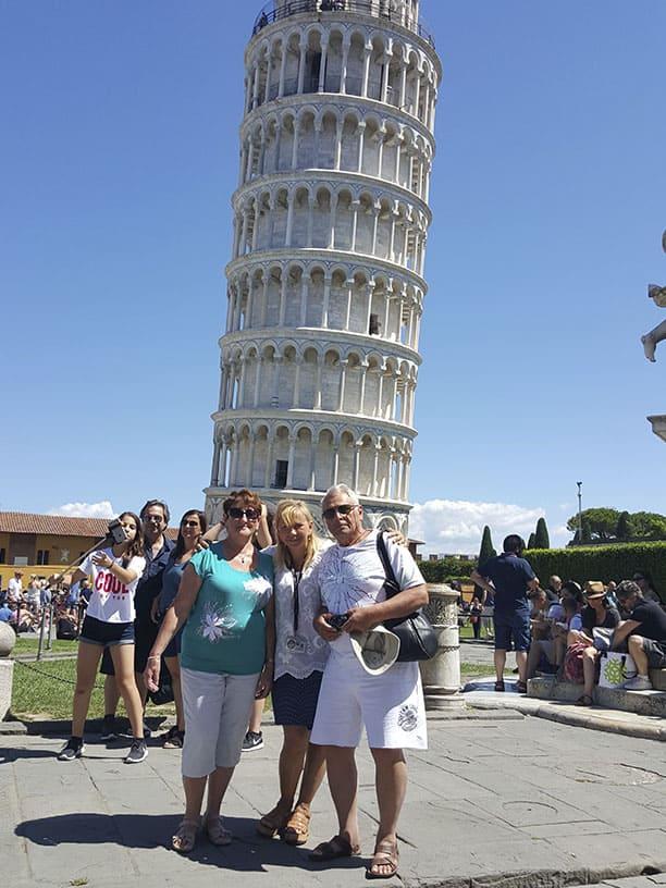 Гид Ирина Лихота - экскурсии в Тоскане. Фото с туристами (фото 4)