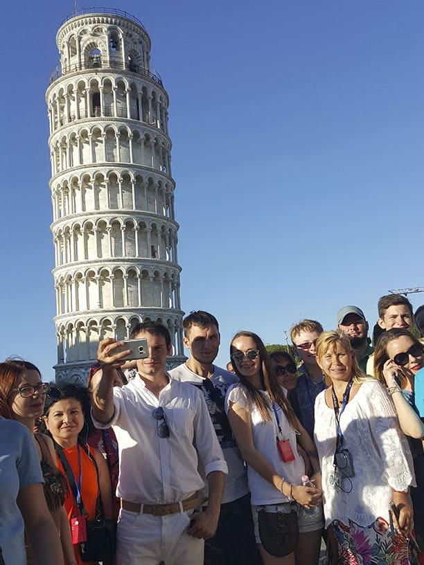 Гид Ирина Лихота - экскурсии в Тоскане. Фото с туристами (фото 6)