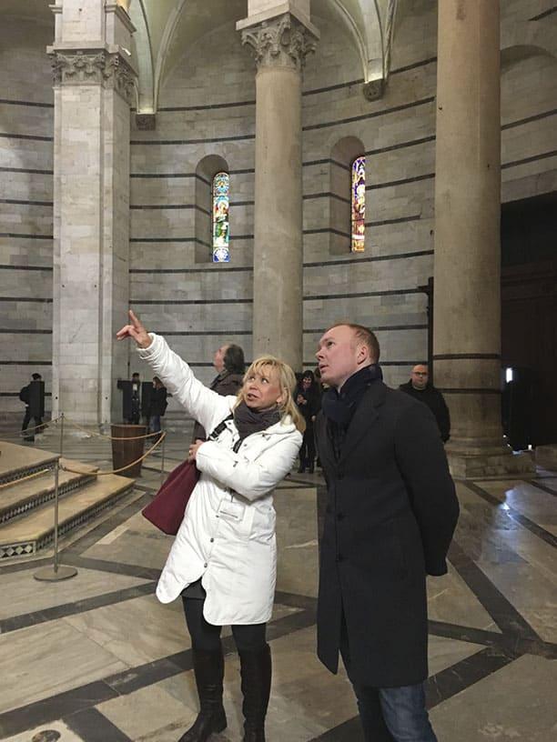 Гид Ирина Лихота - экскурсии в Тоскане. Фото с туристами (фото 9)