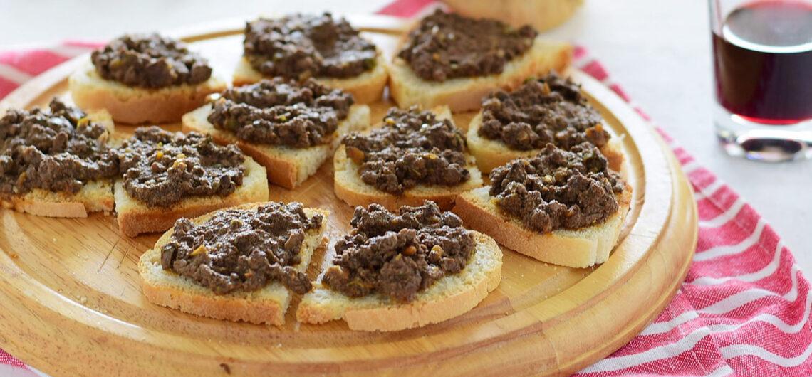 Кухня Тосканы: куриный паштет