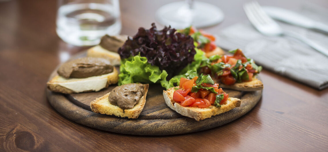 Кухня Тосканы: трис кростини