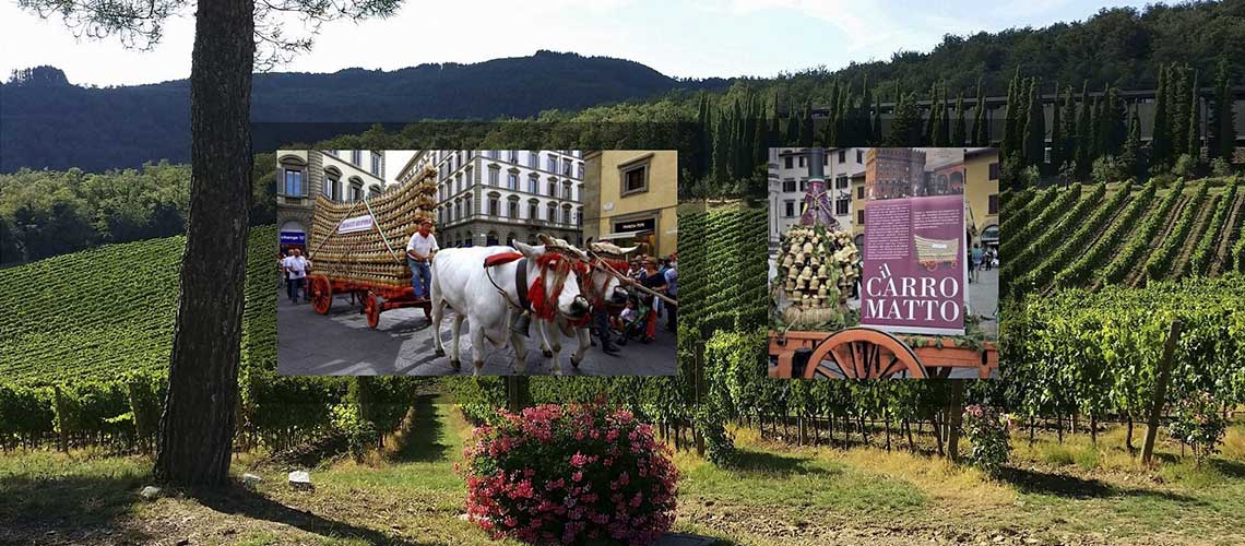 Флоренция: Сумасшедшая повозка