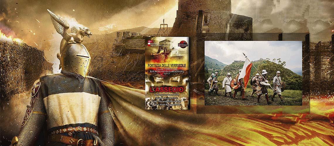 Лукка, Гарфаньяна: Осада крепости Verrucole