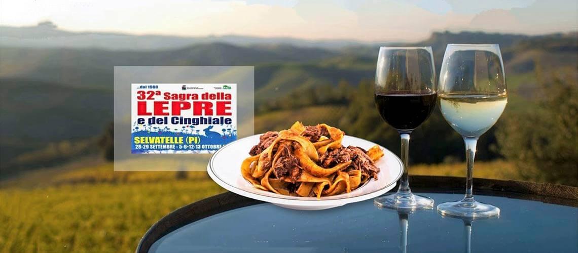 Пиза Terriciolla Salvatelle: Фестиваль блюд из дикого зайца и кабана в Селвателле (2-3-4 уик-энд октября)