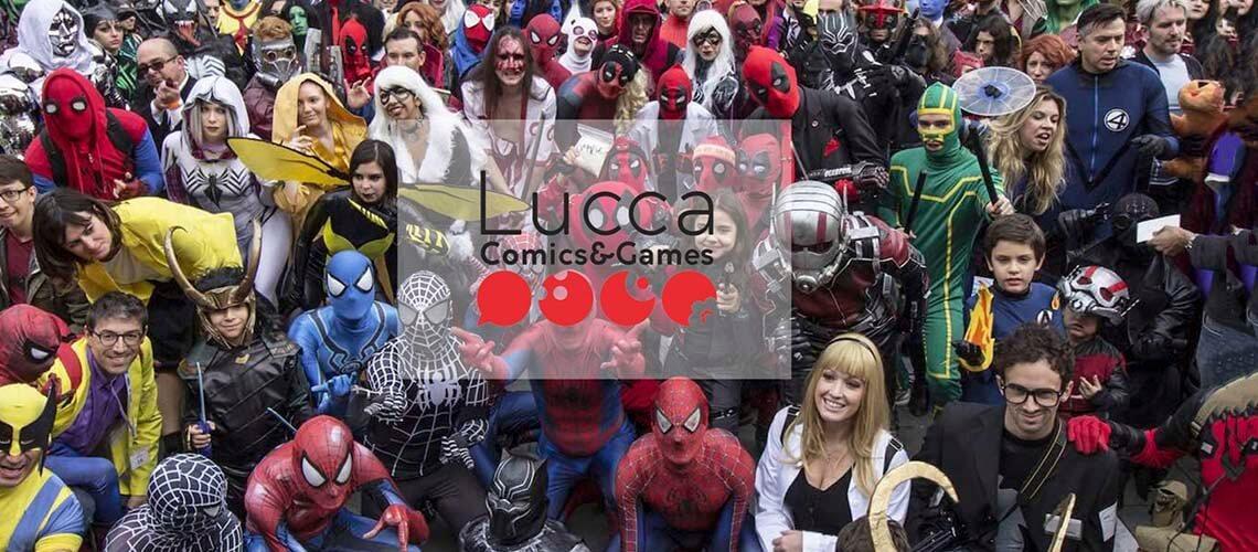 Лукка: Международный фестиваль комиксов и игр (4 неделя октября)