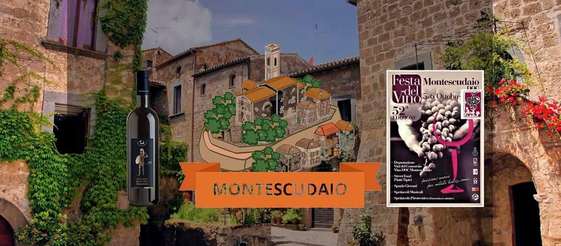 Пиза Montescudaio: Праздник вина ДОС (1 уик-энд октября)
