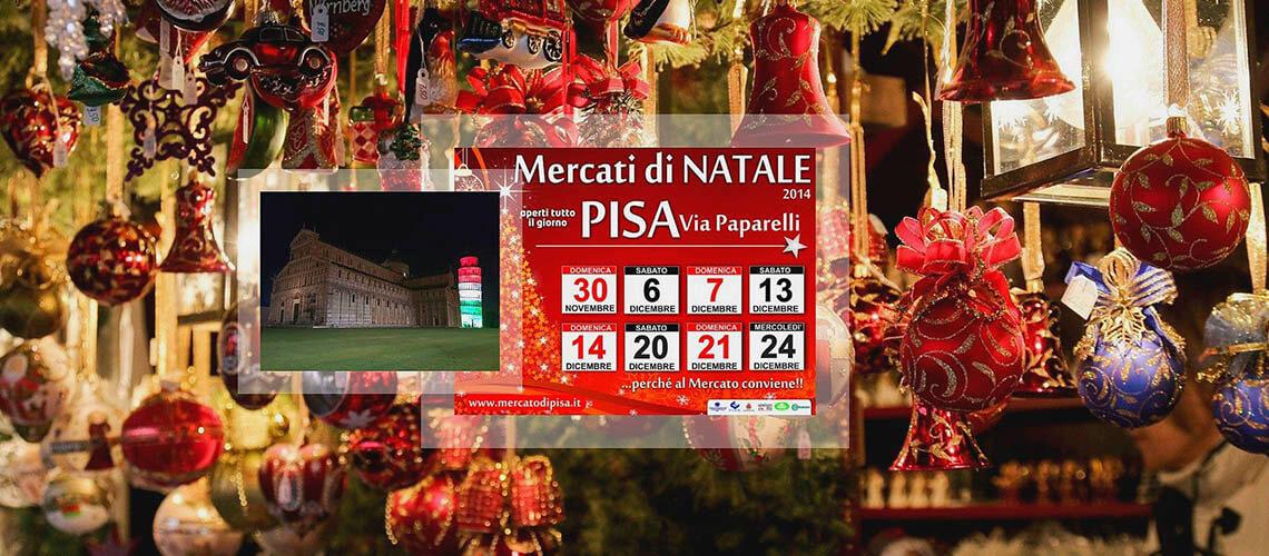 В Пизе ярмарка Мercatino di Natale