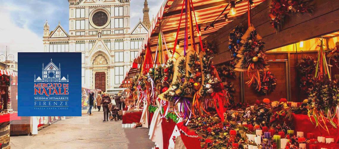 Во Флоренции новогодняя ярмарка Weihnachtsmarkt